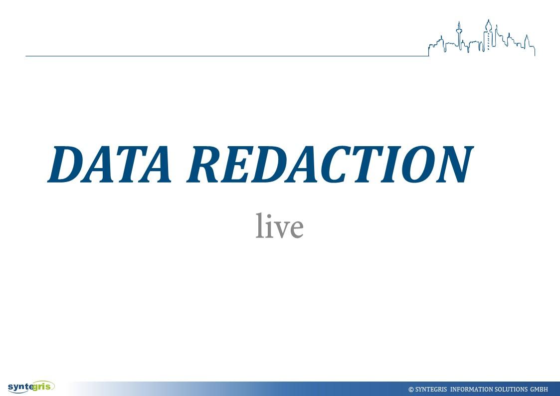 Oracle Data Redaction