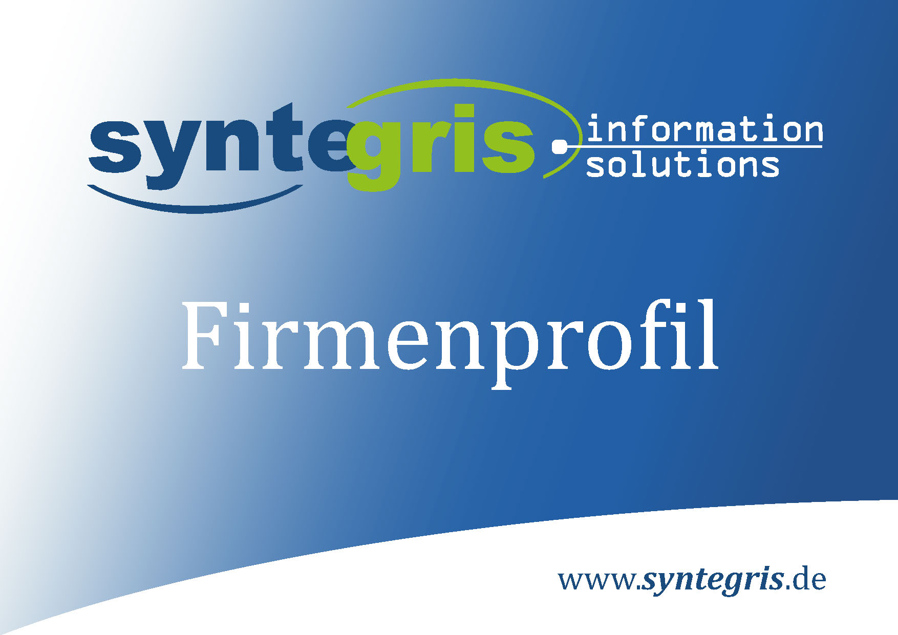 Syntegris Firmenprofil