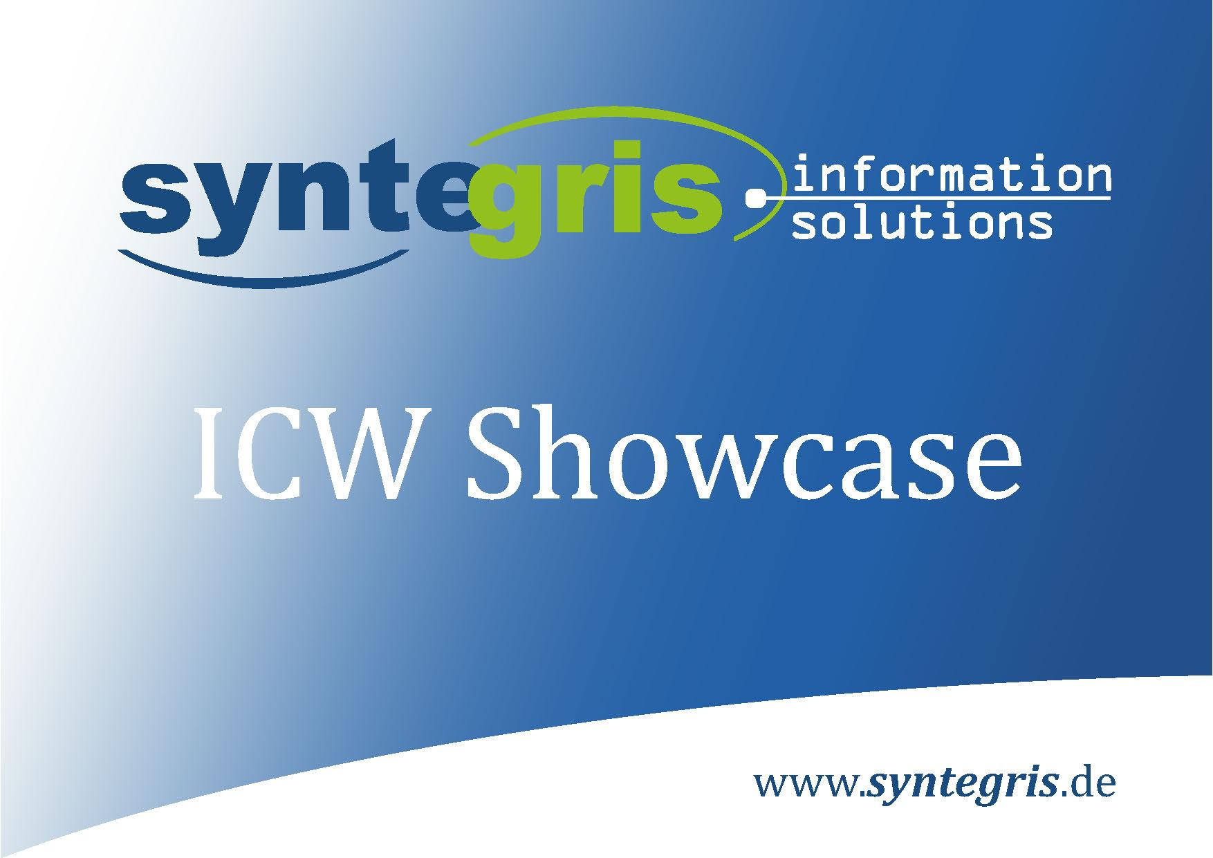 Syntegris ICW Showcase