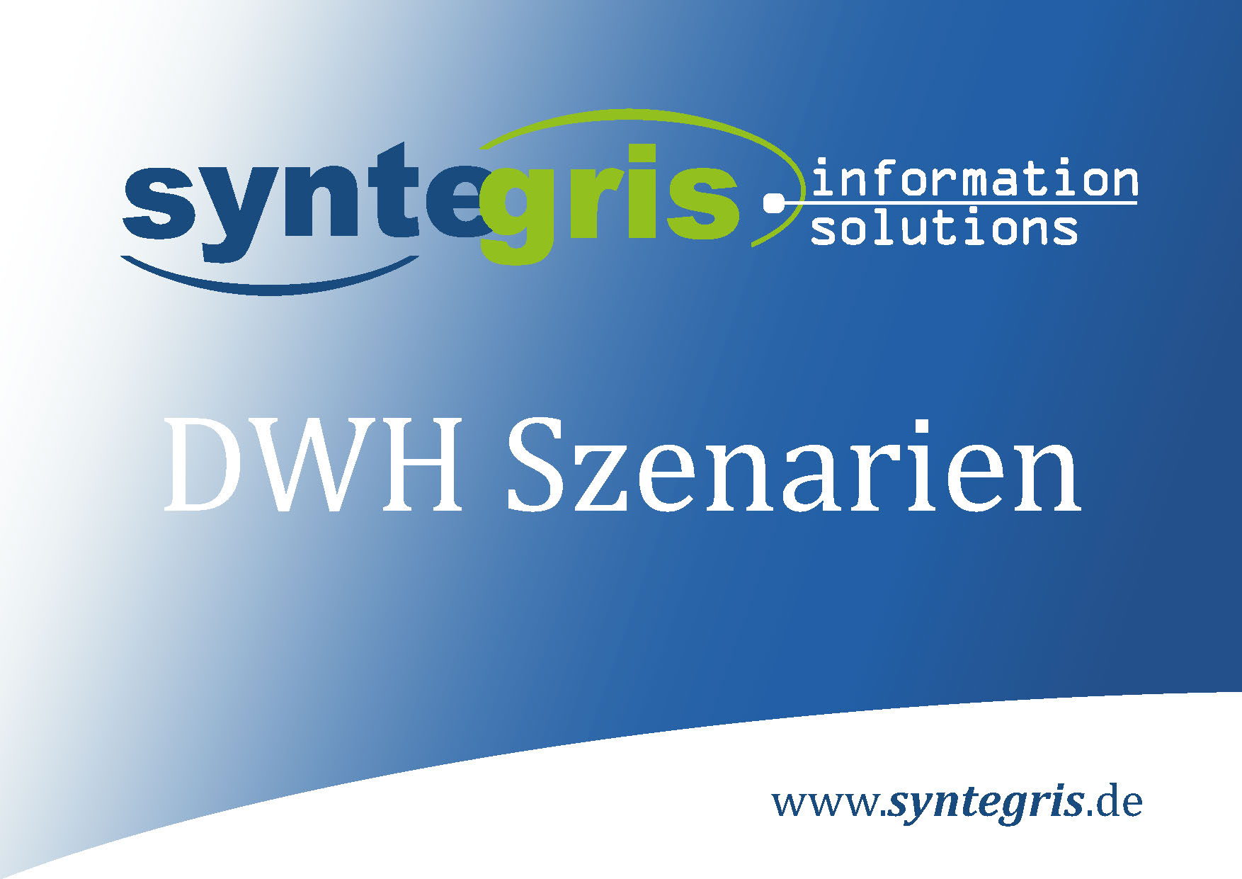 Syntegris DWH
